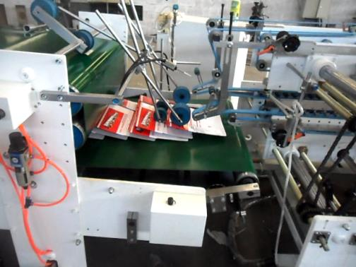 conveying and pressing unit