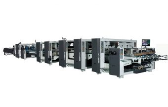 high speed automatic folder gluer machine