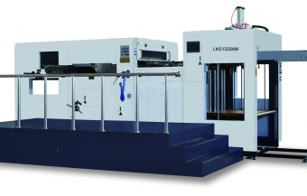 Automatic die cutting machine LKS1320AM (Automatic and manual feed)
