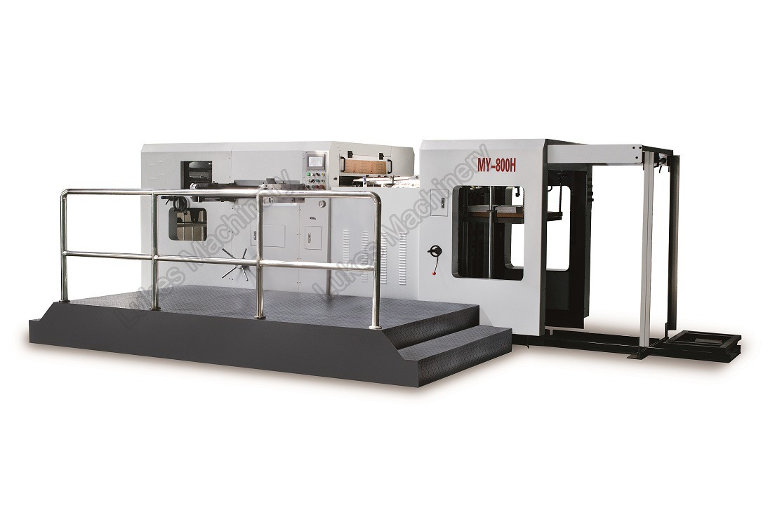 1650G high speed automatic die cutting machine for corrugated carton