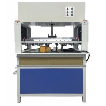 Handle stripper machine to clean waste material